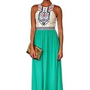 Dresses & Skirts - Summer bohemian floral print maxi dress